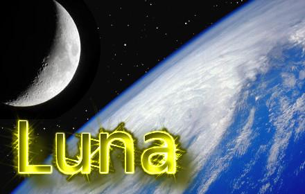 Calendario Lunar Mes Marzo 2019 (España)
