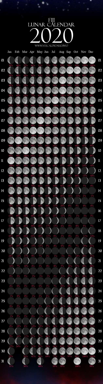 lunar calendar 2020  fiji